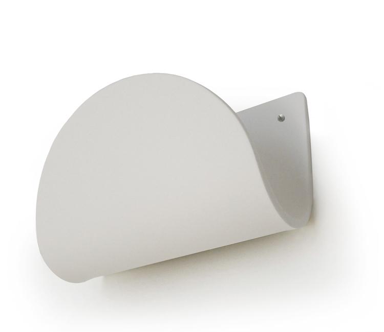 tarayy design zeitungswandhalter wei tarayy designprodukte. Black Bedroom Furniture Sets. Home Design Ideas